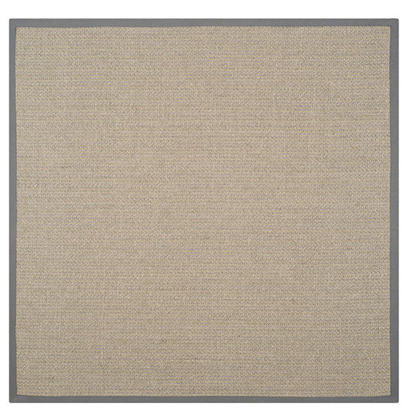 Natural Fiber Nf444A Rug, Grey Brown/Grey, 6'0