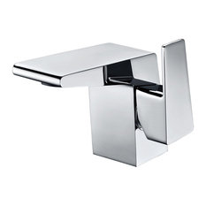 ALFI brand AB1470-PC Polished Chrome Modern Single Hole Bathroom Faucet