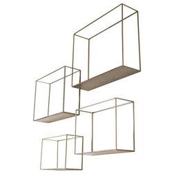 Transitional Display And Wall Shelves  by Kalalou, Inc.