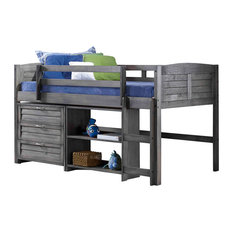 Garland Loft Bed, Antique Gray, Twin