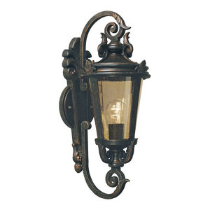 Medium Weathered Bronze Outdoor Wall Lantern