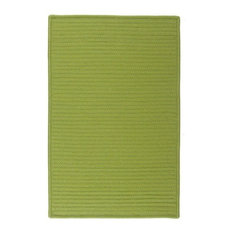 Colonial Mills, Inc - Simply Home Solid Rug, Bright Green, 12'x15' - Outdoor Rugs