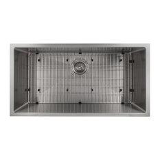 "ZLINE Classic 36"" Undermount Single Bowl Sink, Stainless Steel"