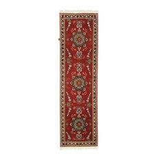 "Persian Rug Tabriz 50Raj 9'7""x2'8"" Hand Knotted"