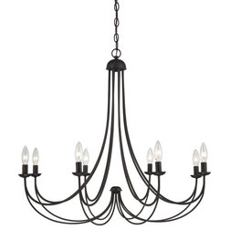 Unique Traditional Chandeliers by Quoizel