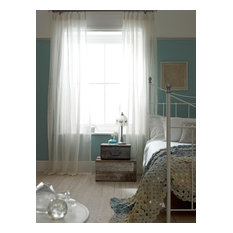 Affinity Voile Snowdrop Curtains