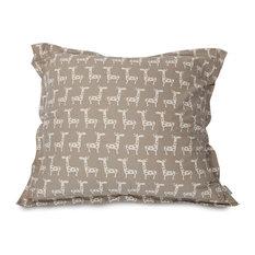 Stretch Maple Floor Pillow