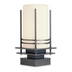 """Hubbardton Forge (335796) 1 Light Banded 14.375"""" Outdoor Pier Mount"""