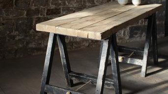 Lomwe Trestle Table - Nkuku Spring Collection