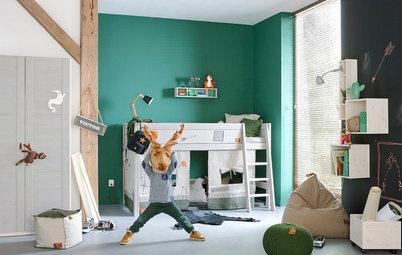 Blau, Rosa, … – welche Farbe fürs Kinderzimmer ist die richtige?