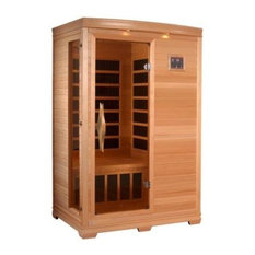 Far-Infrared Carbon Sauna With Chromotherapy, 2-Person