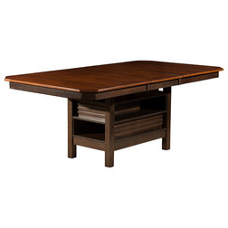 Transitional Dining Tables by Alpine Furniture, Inc