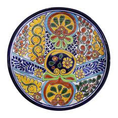 "Talavera Dinner Plate 12"", A"
