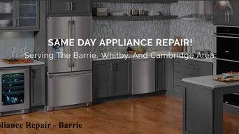 Appliance Repair in Barrie ON - Rapid Appliance Repair (800) 828-0856