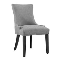 Fabric Dining Chair Light Gray