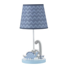 Lambs Ivy Roar Lamp With Shade Bulb By Bedtime Originals Blue