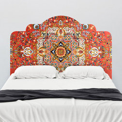 Lovely Contemporary Wall Decals Vintage Rug Adhesive Headboard Wall Decal