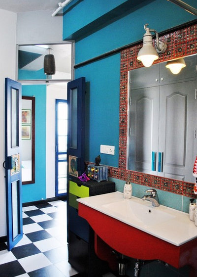 Eclectic Bathroom by Layers Studios for Design & Architecture