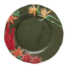 Tropical Flowers Charger Plate
