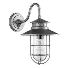"""Quorum Moriarty 15.75"""" Outdoor Wall Sconce in Graphite"""