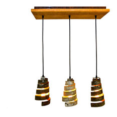 wine country craftsman rustic caledonia barn wood and wine barrel ring chandelier