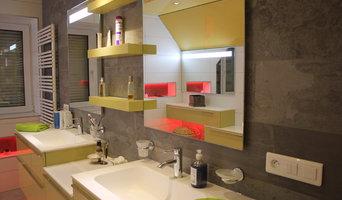 Rénovation d'une superbe salle de bain design sous-comble