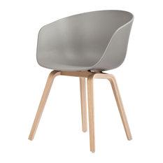 Hay Design   About A Chair AAC 22 Stuhl Grau/Natur Hay Design    Esszimmerstühle