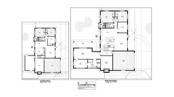 Bousman master suite addition, kitchen, dining, and living room remodel.