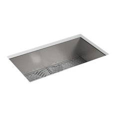 """Sterling 20022-PC Ludington 33"""" Single Basin Undermount Stainless - Stainless"""