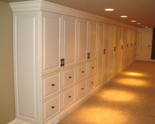 basement built in storage cabinets rh houzz com Basement Storage Ideas built in storage cabinets for basement