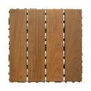 "Ipe Wood Deck Tiles - SwiftDeck Colorado 12"" x 12"""