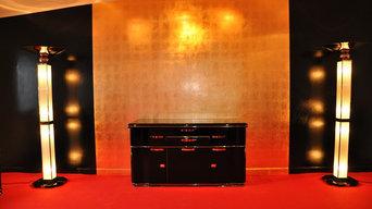 Restaurierte Möbel