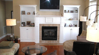 Lake house staging