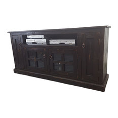 American Heartland - Rustic TV Stand, Rustic Driftwood - Entertainment Centers and Tv Stands