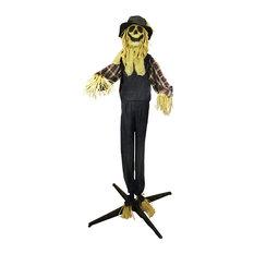 6.5' Animated Halloween Standing Scarecrow