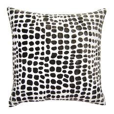 Square Feathers - Sheldon Throw Pillow, Cheetah - Decorative Pillows