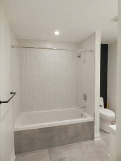 Tiling Ideas For A Drop In Tub Alcove