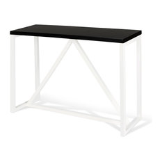 30 Inch Wide Side Contemporary Console Tables Houzz
