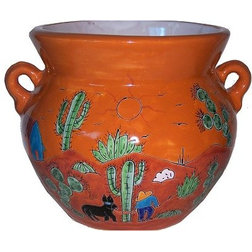 Southwestern Outdoor Pots And Planters by Fine Crafts & Imports