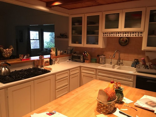 Ideas on updating a 1960s kitchen