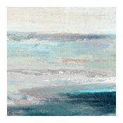 """Cabana Waves II"" Fine Art Canvas Print, 54""x54"""