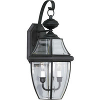 Forte Lighting 1301-02 2 Light Outdoor Wall Sconce