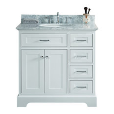 30-inch Antique Coffee Sink Vanity With Wlf7040-31 Top No Faucet