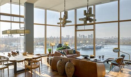 Houzz тур: Квартира с видом на реку в «Городе яхт»