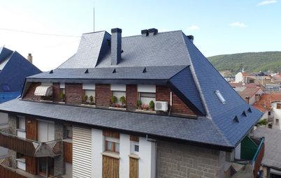Características e instalación de los tejados de pizarra