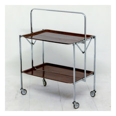 Retro Folding Tea Trolley