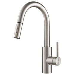 Contemporary Kitchen Faucets by Buildcom