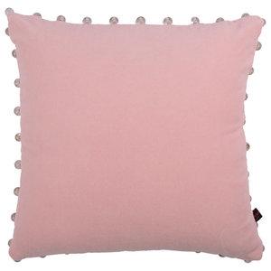 Arabella Modern Cushion, Pale Pink