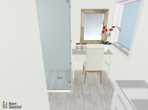Master Bathroom Layout Dilemma Tub Or