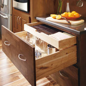 Base Cabinet with Roll Trays - Decora Cabinetry